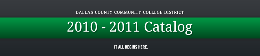 DCCCD 2010-2011 Catalog banner