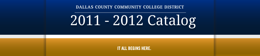 DCCCD 2011-2012 Catalog banner